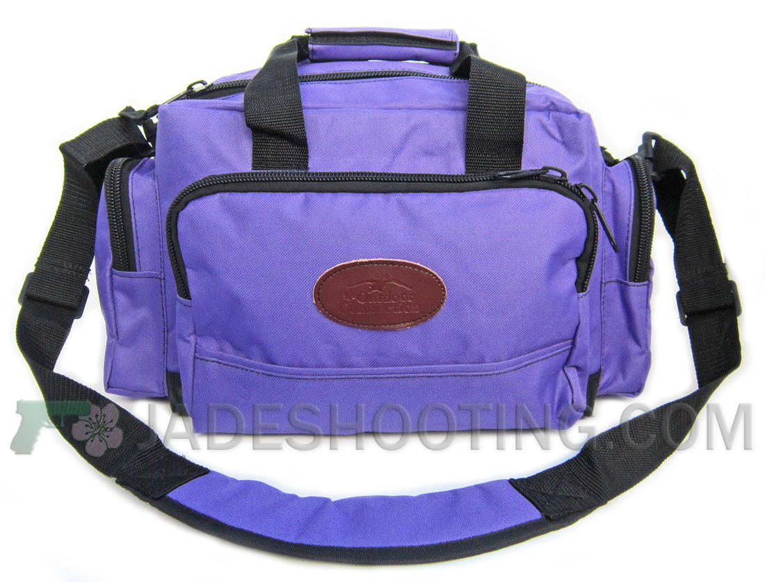 new outdoor connection purple range bag shooters