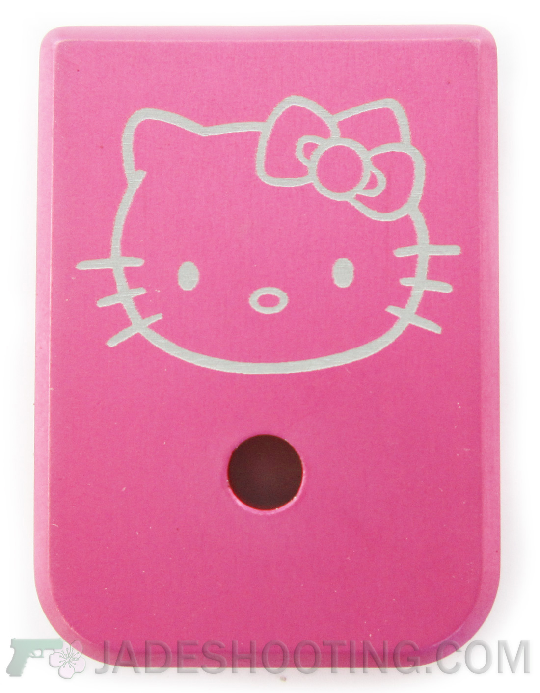 new pink hello kitty engraved graphic magazine floor plate